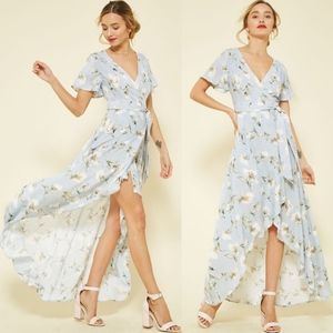 SHILOH Floral Wrap Dress